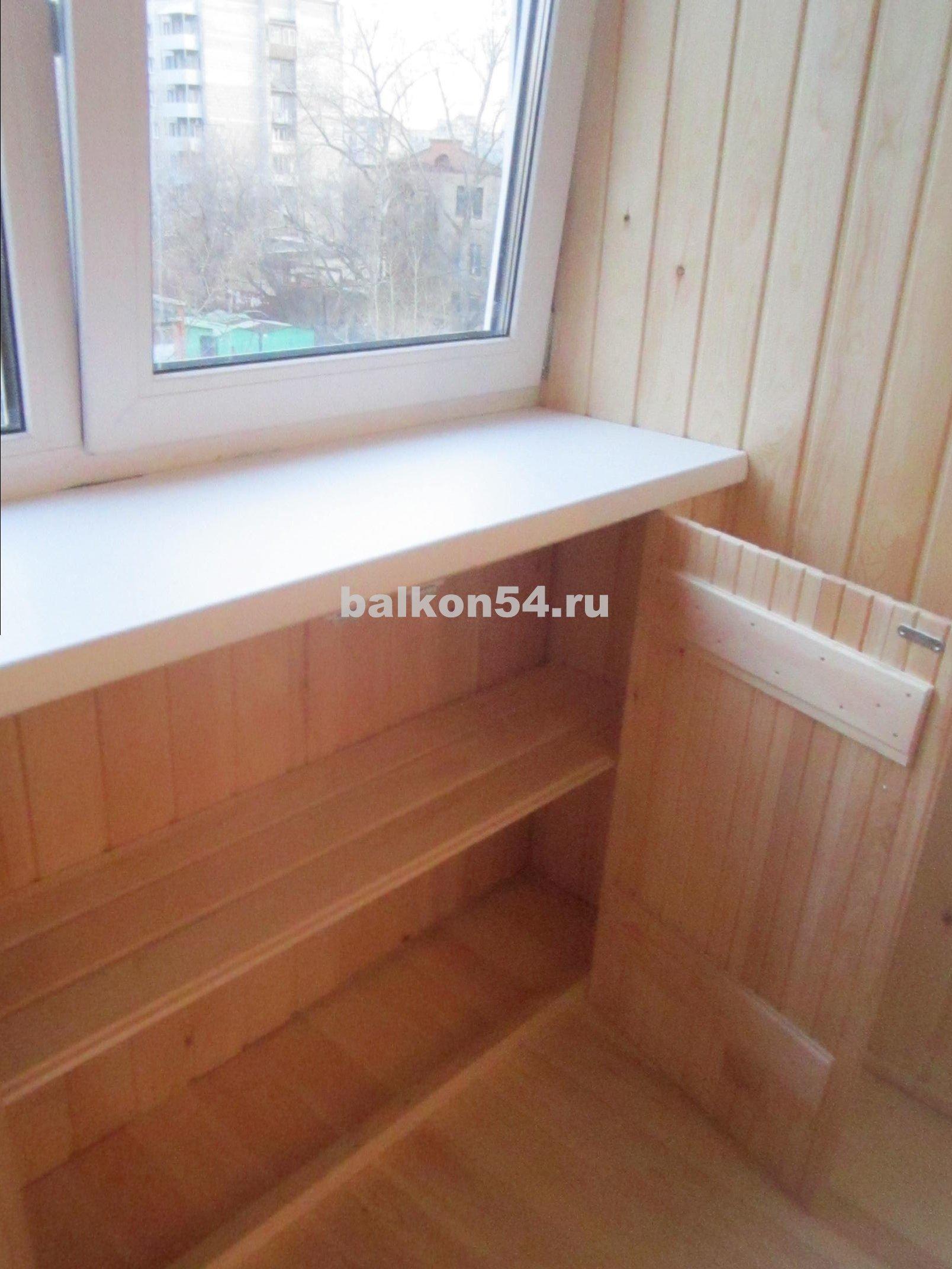 Шкаф для балкона угловой своими руками.