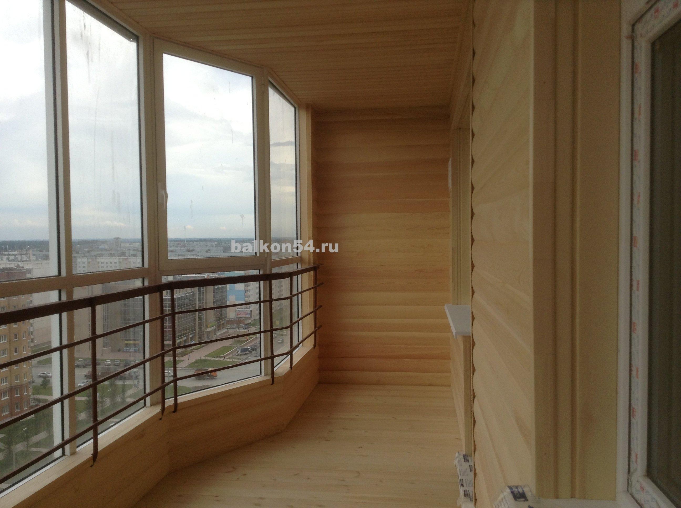 Все фотографии обшивка балкона блок хаусом.