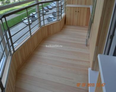 бланк листовки по отделке балконов пример
