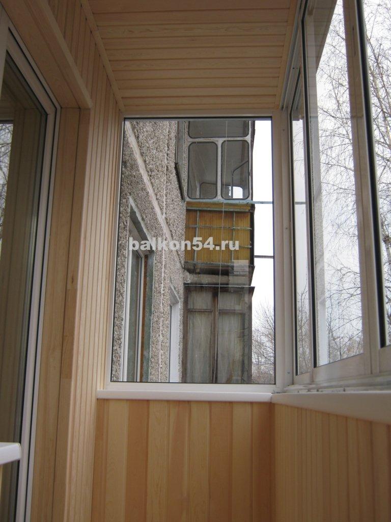 Застеклить балкон алюминиевым профилем в новосибирске цены н.
